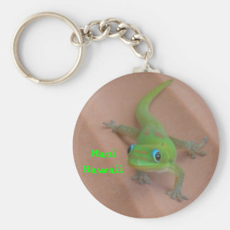 Gold Dust Day Gecko Key Ring