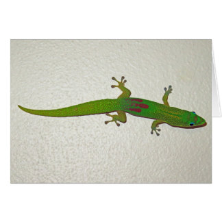Gold Dust Gecko Card