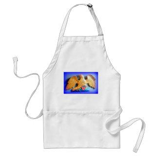 gold eagle apron