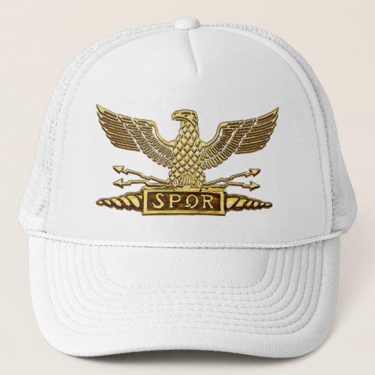 Gold Eagle Roman Legion Trucker Hat