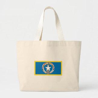 Gold Edge Northern Marianas Flag Jumbo Tote Bag