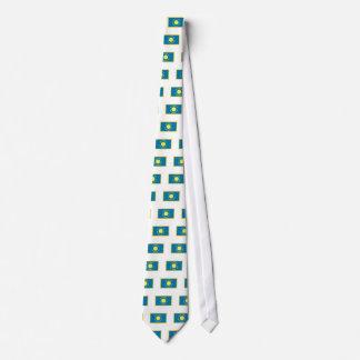 Gold Edge South Dakota Flag Tie
