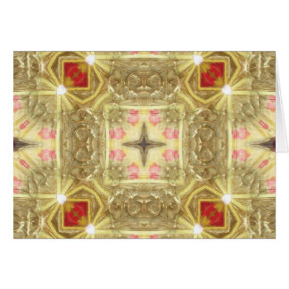 Gold Edged Silk Card