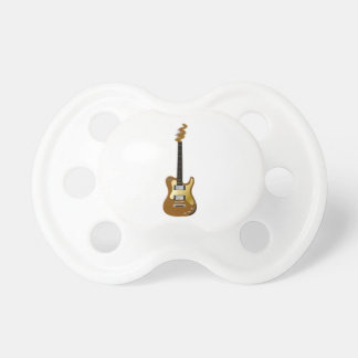Gold electric guitar fizzle headstock.png baby pacifier