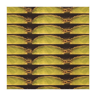 Gold Energy From Vintage Egyptian PYRAMID Canvas Prints