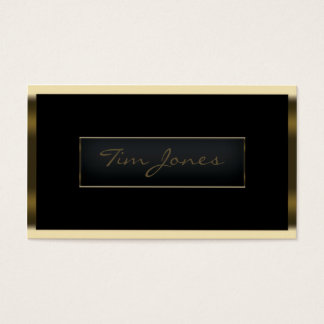Gold Exec Business Card