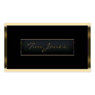 Gold Exec Pack Of Standard Business Cards