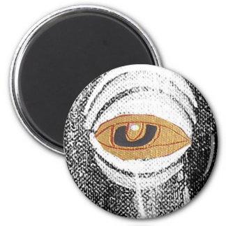 gold eye fridge magnets