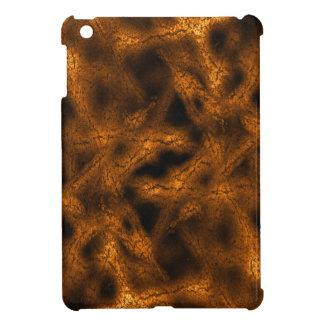 Gold fantasy pattern iPad mini cover