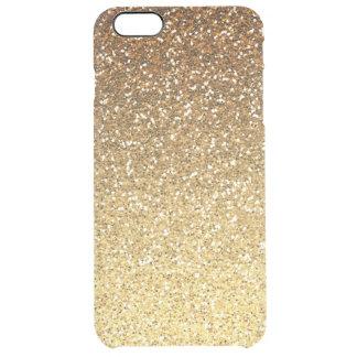 Gold Faux Glitter Ombre iPhone 6 Plus Case