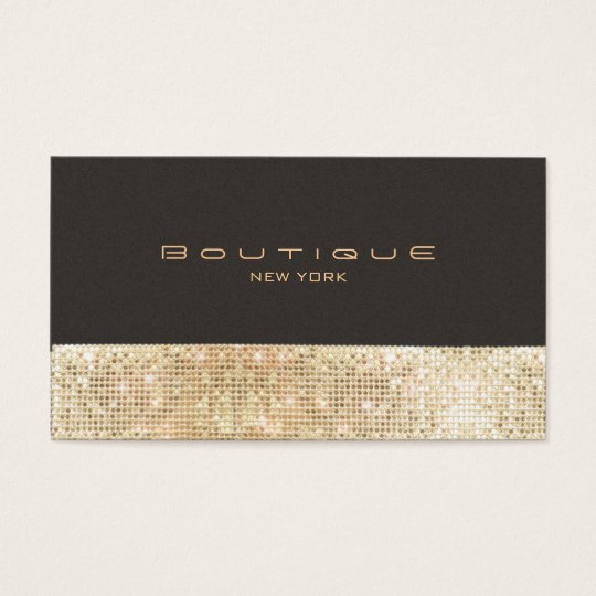 Gold FAUX Sequins Suede Look Beauty & Chic