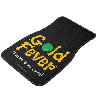 Gold Fever Car Mat