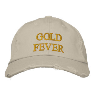 GOLD FEVER EMBROIDERED HAT 95a6083536e