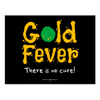 Gold Fever Postcard