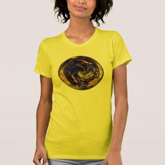 Gold Filigree Sphere T-Shirt