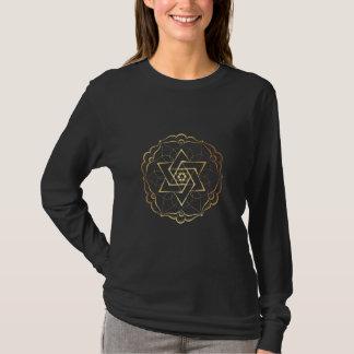 Gold Filigree Star of David T-Shirt