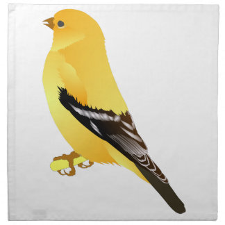 Gold Finch Printed Napkins