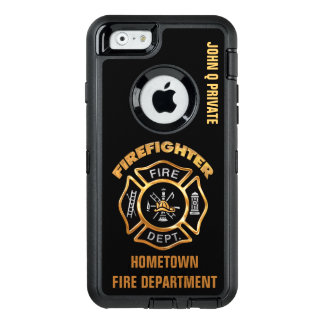 Gold Firefighter Name Template OtterBox iPhone 6/6s Case