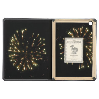 Gold Fireworks Burst iPad Air Cover