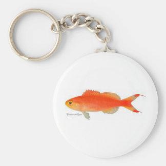 Gold Fish Design Key Chain