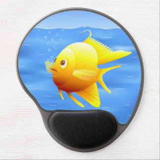 Gold Fish Gel Mouse Pad