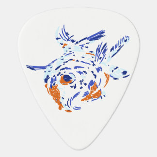 Gold Fish Guitar Pick