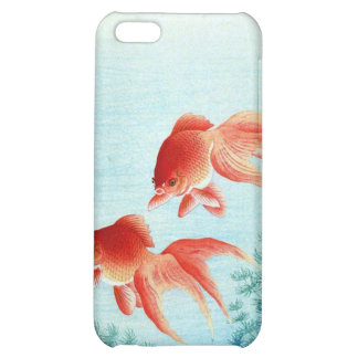 Gold fish Japanese Woodblock iphone case iPhone 5C Covers