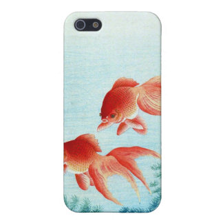 Gold fish Japanese Woodblock iphone case iPhone 5 Cover