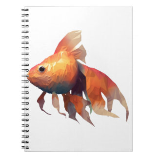 Gold Fish Notebook