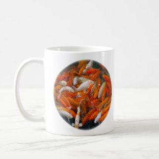 Gold Fish Swarm Mug