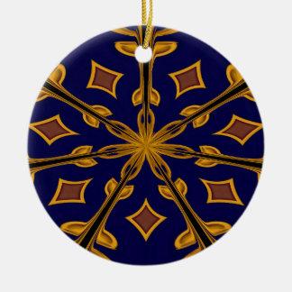 Gold Flake Ornament
