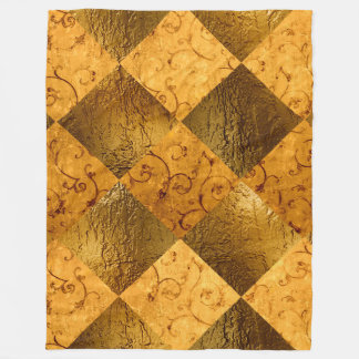 Gold Fleece Blanket, Large