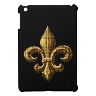 Gold Fleur De Lis iPad Mini Cases