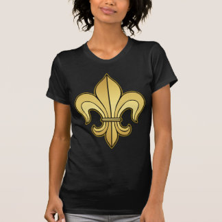 Gold Fleur de lis Tshirt
