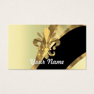 Gold fleur de lys personalized
