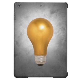 Gold Floating Light Bulb iPads Case iPad Air Case