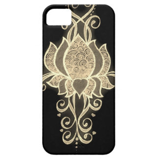 gold floral mehndi case for the iPhone 5