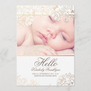 Newborn Baby Invitations Announcements Zazzle Uk