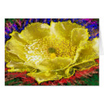 Gold Flower - For Energy n Healing Greeting Card