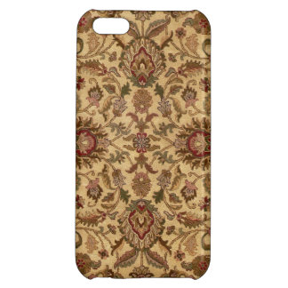 Gold Flowers Arabesque oriental tapastery Cover For iPhone 5C