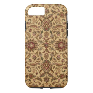 Gold Flowers Arabesque oriental tapastery iPhone 7 Case
