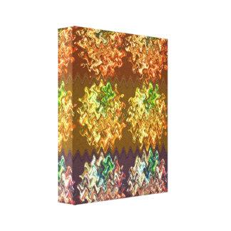 Gold Foil Art  - Sparkling Diamonds Canvas Print