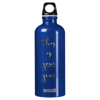 Gold Foil Effect This is Your Year Water Bottle SIGG Traveller 0.6L Water Bottle
