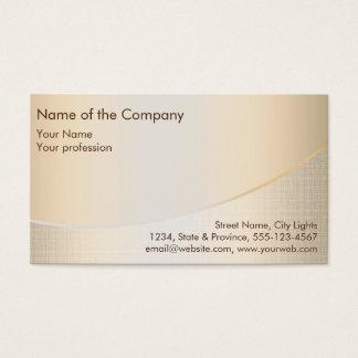 Gold Foil Elegant Retro Financial Services