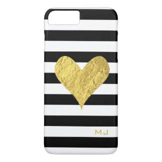 Gold Foil Heart iPhone 8 Plus/7 Plus Case