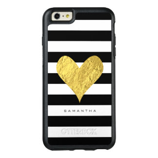 Gold Foil Heart OtterBox iPhone 6/6s Plus Case