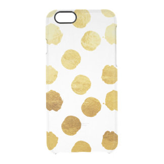 Gold Foil Polkadot iPhone 6/6s Case iPhone 6 Plus Case