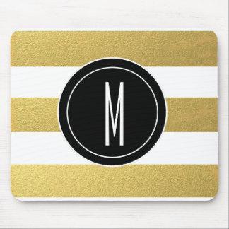 Monogram Mouse Mats