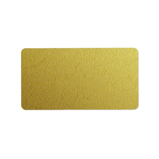 Gold Foil Textured Template Address Label