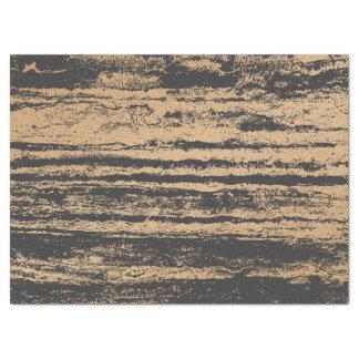 Gold Foxier Blush Glam Black Marble Stripes Paint Tissue Paper